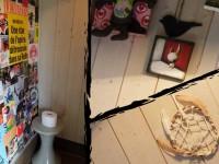 caravane Le Paradoxe Perdu, les toilettes