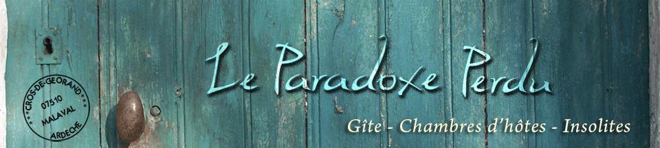 Le Paradoxe Perdu